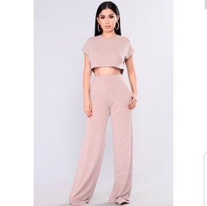Netflix and chill fashion nova two pieces set
